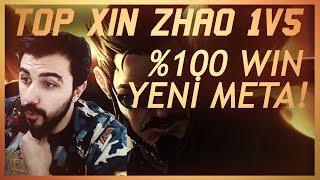 1 vs 5 ATTIRAN %100 WIN TOP XIN ZHAO !!