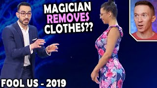 Magician REACTS to Adrian Carratala on Penn and Teller FOOL US 2019