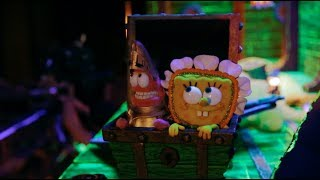 Behind the scenes of SpongeBob SquarePants' stop-motion Halloween special