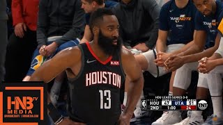 Houston Rockets vs Utah Jazz - Game 4 - 1st Half Highlights | April 22, 2019 NBA Playoffs