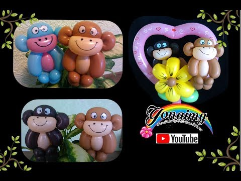 CHANGUITOS BONITOS Y FACILES. EASY AND CUTE MONKEYS
