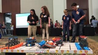 2017 aio Hawaii Middle School VEX IQ Championship (Seed 1: 5432B PunaTechs & 4442A Navigators)