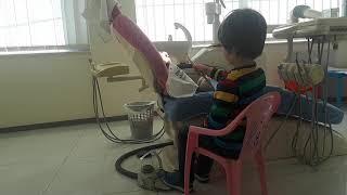 ▶️KR🐰NI duke pastruar dhëmbët e lepuroshit🐇🐇🐇 te Klinika Dentare Dent-In 😘