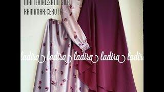 Baju Muslim Gamis Payung Rok Lebar Umbrella Terbaru