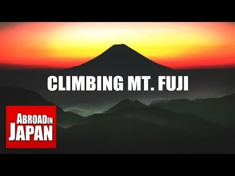 Climbing Mount Fuji 8 Hours of Hell