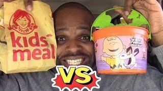 McDonald's Vs Wendy's Kids Meal