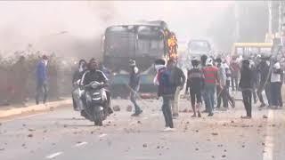 Gurgaon Bhondsi villeg me padmawati movie Ko leke hua hangman dekhiye live