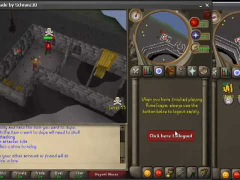 How to dupe on runescape private servers.