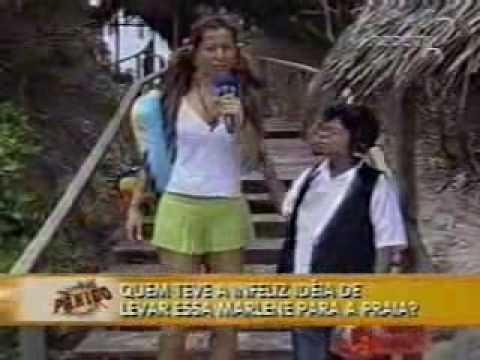 Pânico Na TV Sabrina Sato Na Praia De Nudismo