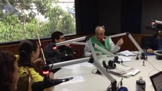 Entrevista a Daniela Padrón con César Miguel Rondón, a través de Onda la Superestación - 14-07-2016