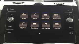 VW Golf 7 Facelift Composition Media / Discover Media / Radio / Navi / Golf 7,5 / Golf 8