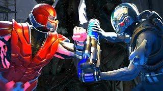 Injustice 2 - Sub-Zero Vs Mr Freeze All  Intro Dialogue/All Clash Quotes, Super Moves