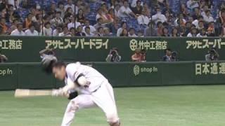 【追悼】キャッチャーキムタク!(1)  カトケン頭部死球部分
