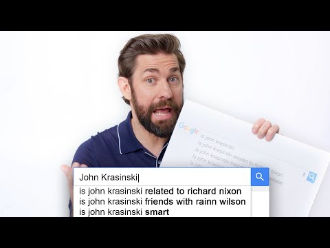 John Krasinski Answers the Web s Most Searched Questions WIRED