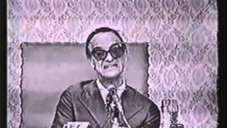 Chico Xavier   Pinga Fogo 1971   Falando sobre as entidades de Umbanda