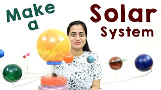 Making a Solar System Model : Science School Project
