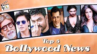 Top 5 Bollywood News : Salman Khan |Shah Rukh Khan |Amitabh Bachchan | Aamir Khan