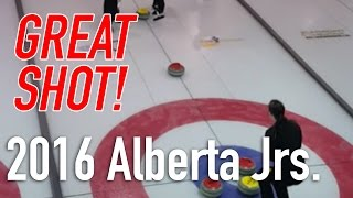 Selena Sturmay - Runback double to win Alberta Jr. Women's Provincials