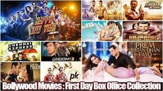 Top 10 Best Bollywood Movies based on First Day Box Office Collections 💰