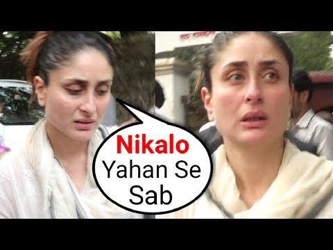 Xxx Mp4 ANGRY Kareena Kapoor Shouts On Media At Her Grandmother Krishna Raj Kapoor Funeral 3gp Sex