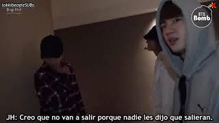 [SUB ESPAÑOL][BANGTAN BOMB] Surprise camera! Please come out early - BTS (방탄소년단)