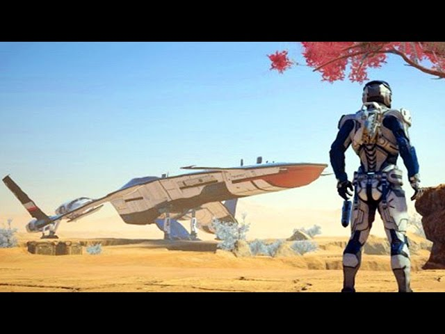 MASS EFFECT ANDROMEDA : Tempest and Nomad Trailer