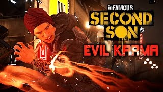 Infamous: Second Son ★ The Movie / All Cutscenes Only (Evil Karma Edition) 1080p HD