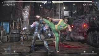 MKX : Lui Kang Dragon's Fire! Beating An Obnoxious Dive Kicker!