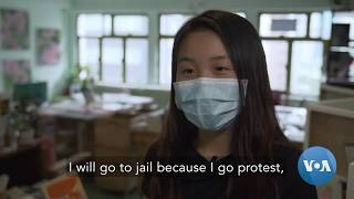 A 15 Year Old Hong Kong Student Talks About What Protests Mean for Her and Her Future