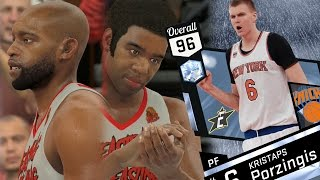 NBA 2K17 My Team - Annoying Animations! Diamond Porzingis! PS4 Pro 4K