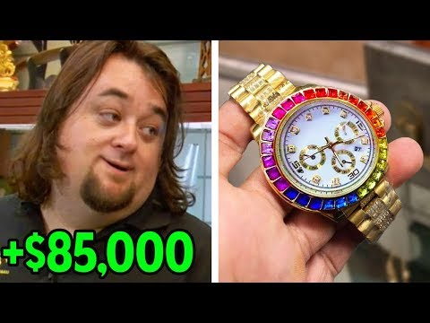8 Times Chumlee Scammed The Customers Pawn Stars