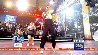 Demi Lovato - Sorry Not Sorry - LIVE GMA  (Happy Bday Demi)