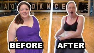 LOSING 65KG WEIGHT THROUGH DANCING