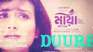 Duure song from natok Maya