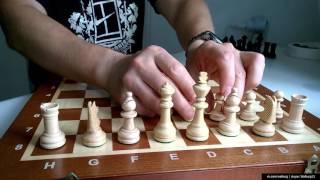 Турнирные шахматы №4 ( махагон, фабрика Мадон ) -  обзор