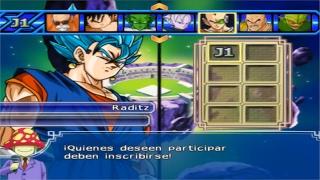 Dragon Ball Z Budokai Tenkaichi 3   TORNEO DE MODS NEW Vegetto SSJ Blue #1