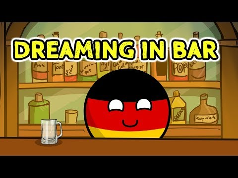 Bar adventure in Berlin - Countryballs