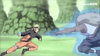 Naruto vs third Raikage Episode 301 Full fight HD
