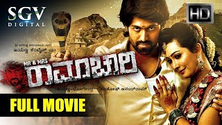 pc mobile Download Mr & Mrs Ramachari - Kannada Full HD Movie New 2018 | Kannada New Movies | Yash, Radhika Pandith