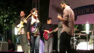 Romantic proposal ON STAGE! Indian couple at a Houston Beer and Music Festival !!!