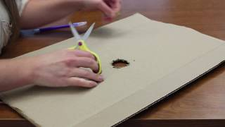Make 2 DIY homemade solar eclipse viewers using common materials
