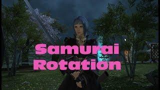 FF14 Stormblood - Samurai Rotation at 50
