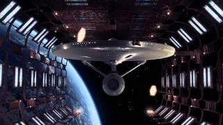 Star Trek TMP -  Leaving Drydock - A Space Opera CG Animation
