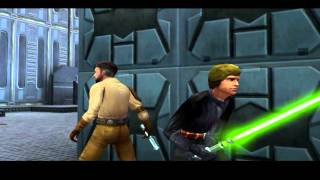 Star Wars Jedi Knight II: Jedi Outcast - Chapter 8 - Cairn Installation (Cutscenes)