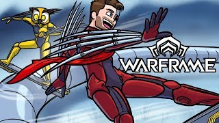 EPIC SNOWBOARD RAIL GRINDING & YOU GET TO MEET MY KIDS! (Warframe Funny Moments w/Vanoss)