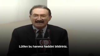 Bülent Ecevit: Bu hanıma haddini bildiriniz