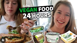 Eating VEGAN Food For 24 Hours