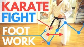 HOW TO CONTROL A FIGHT | Karate Footwork — Jesse Enkamp