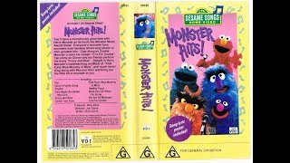 Sesame Songs Home Video Monster Hits!
