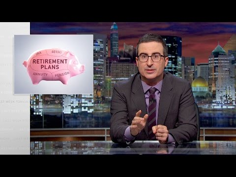 Retirement Plans Last Week Tonight with John Oliver HBO